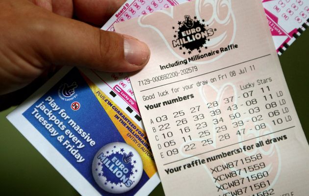 A UK ticketholder has won £14.5 million in Friday's EuroMillions draw. File