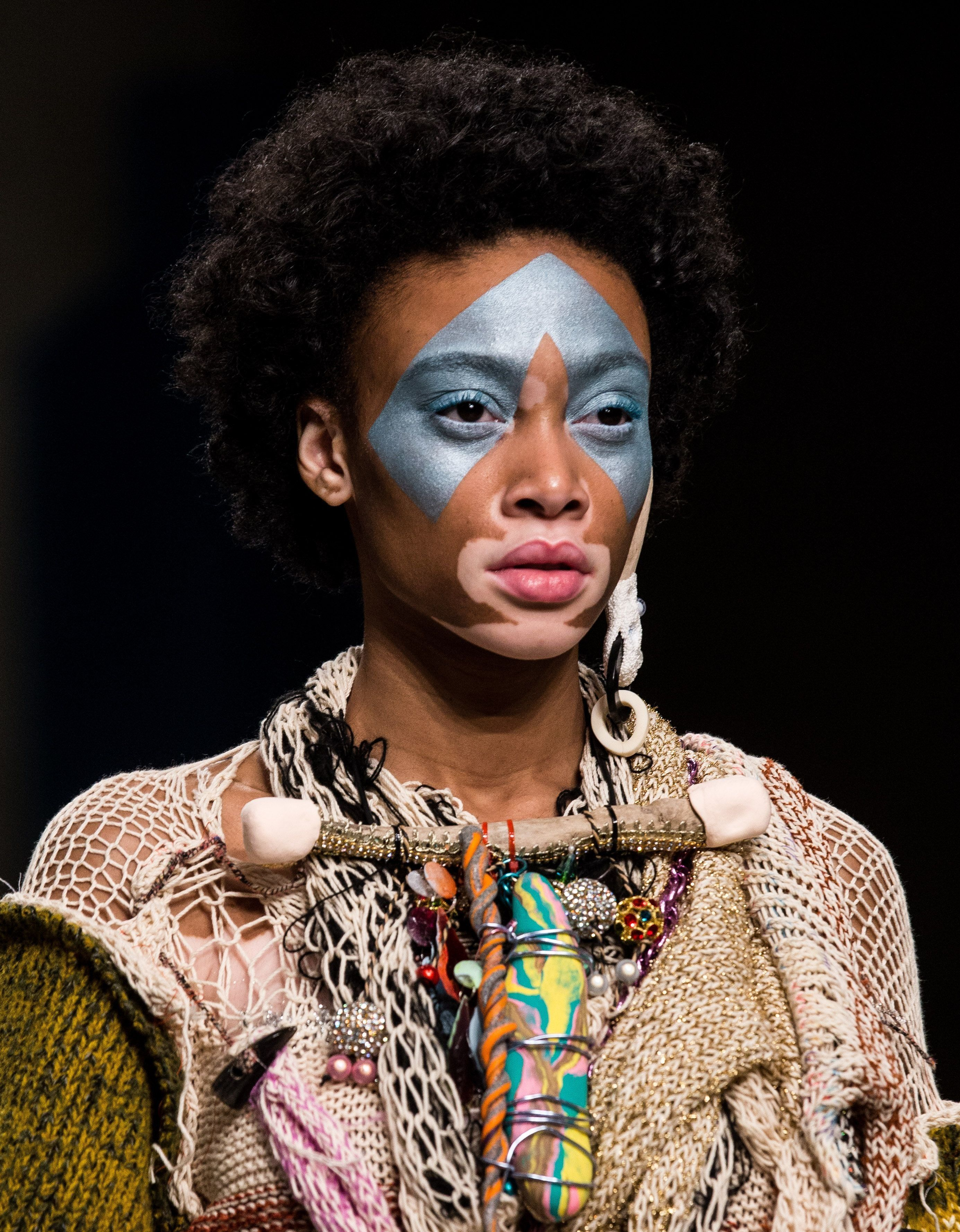London Fashion Week 2017: Winnie Harlow Was The Perfect Choice To Lead Matty Bovan's Divine AW17