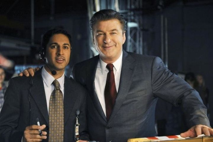 "Maulik Pancholy and Alec Baldwin worked together on ""30 Rock."" Now they're making their own statements in the Trump era."