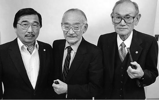 Left to right: Gordon Hirabayashi, Minoru Yasui (the author's uncle) and Fred Korematsu all challenged the incarceration of J