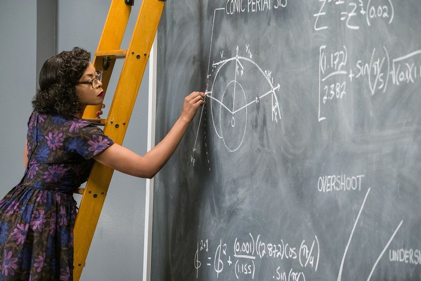 Ways to respect women's pursuits within the storytelling/framing of a film — exhibit A: Hidden Figures