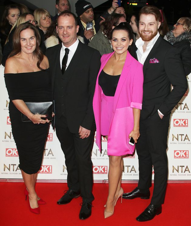 Scarlett's mum Betty, dad Mark Moffatt and ex-boyfriend Luke Codden all attended last month's National...