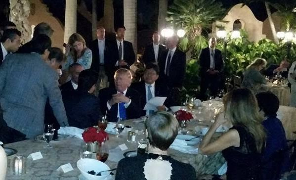 "The Mar-a-Lago ""Situation Room."""