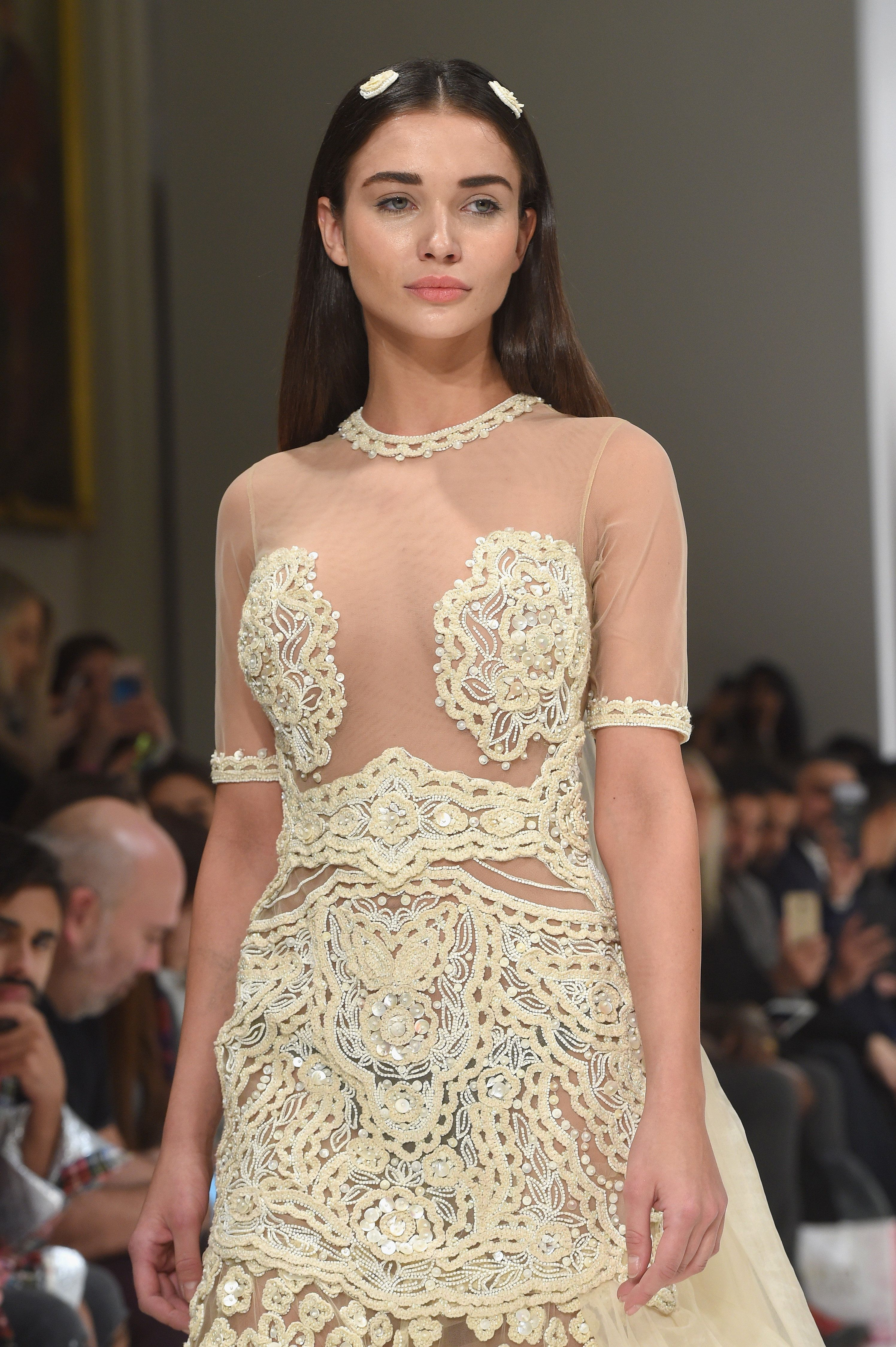 This Nearly-Naked Wedding Dress Is The Most Popular Look Of London Fashion
