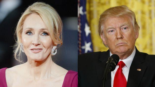 JK Rowling leads tributes to Donald Trump's fabricatedSwedish