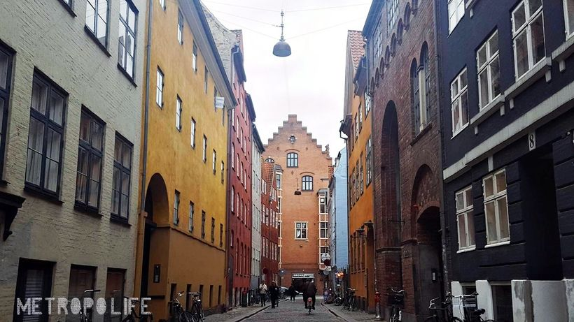 This street is one of my favourites in Old Town Copenhagen and for me, it is the embodiment of Scandinavian's style