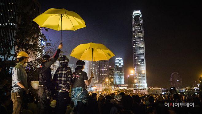 Hong Kong's Umbrella Revolution./ Source: Wikimedia Commons