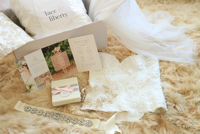 <strong>Lace & Liberty Try On At Home Sample Box</strong>