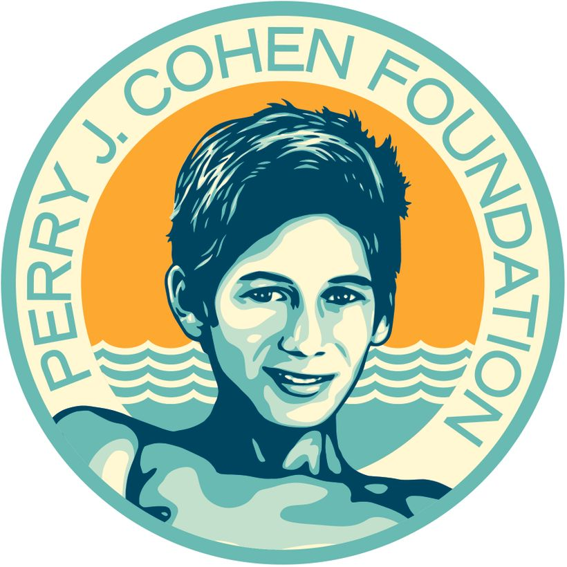 Logo, Perry J. Cohen Foundation. Courtesy Obey Giant Art.