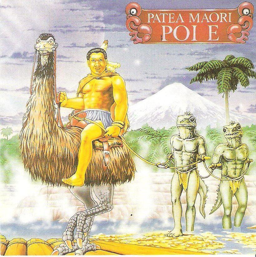 Cover art by Maui Records for the album of<strong><em>Poi E</em></strong>
