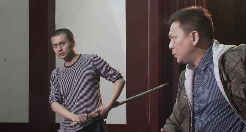 Yang Yang gets coached by his mentor in a scene from <strong><em>My Next Step</em></strong>