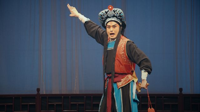 Yang Yang rehearses in a scene from <strong><em>My Next Step</em></strong>