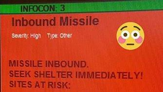 This was the heart-stopping message Air Force personnel received at Spangdahlem Air Base in Germany