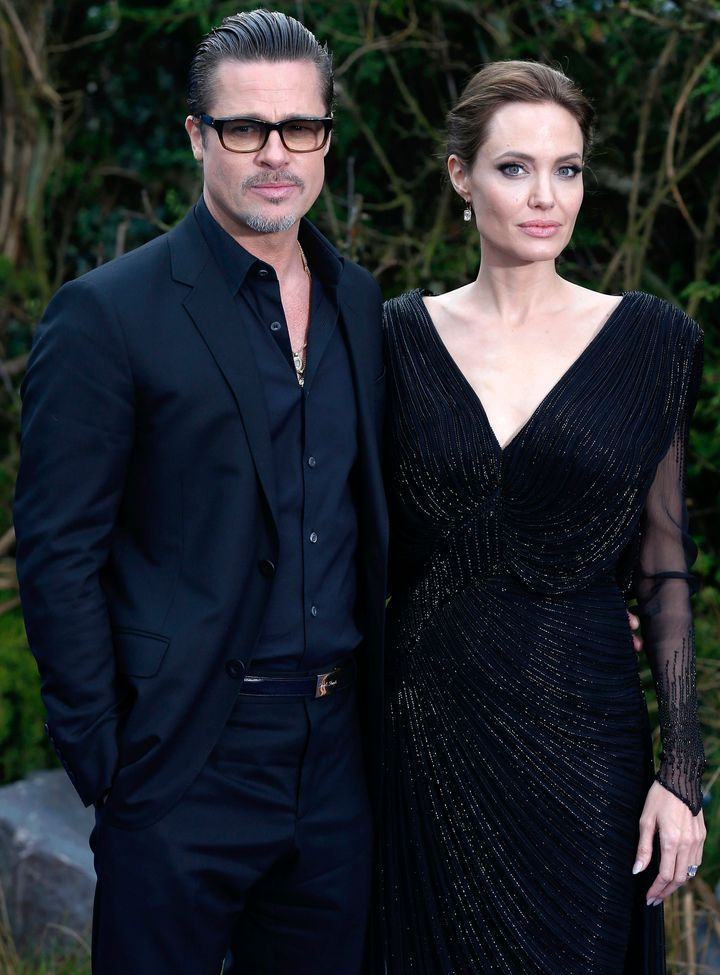 Brad and Angelina announced they were divorcing last September