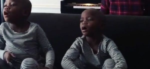 Madonna Shares First Video Of Adopted Twin Daughters Singing 'Twinkle, Twinkle'