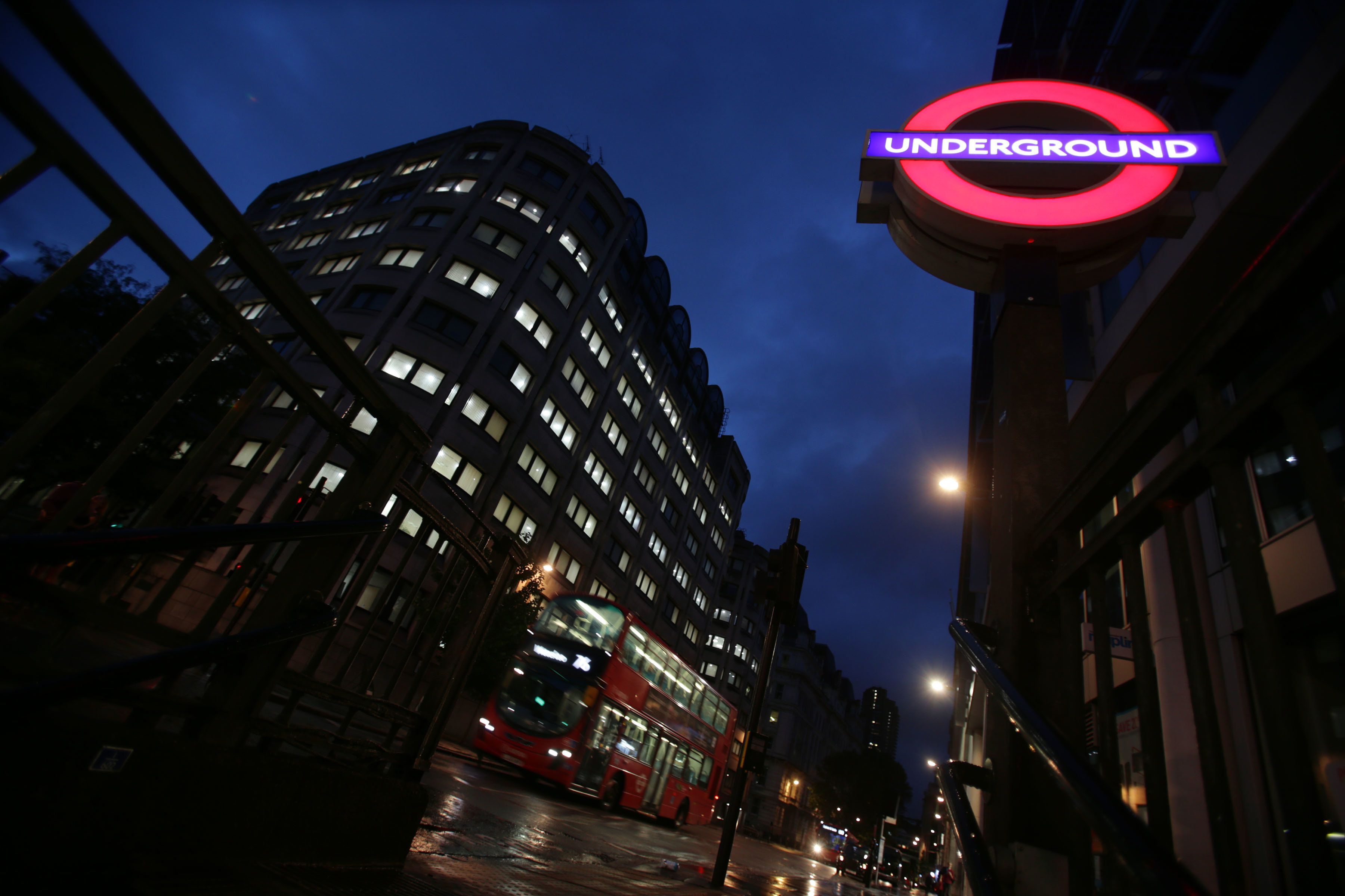 Night Tube services could be hit by