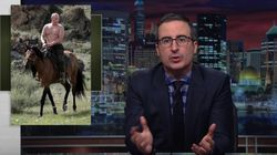 John Oliver Perfectly Explains Trump's 'Weird' Relationship With