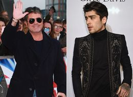 Simon Cowell Had A Rather Smug Reaction To Finding Out Zayn Malik Was Outsold By Bradley Walsh