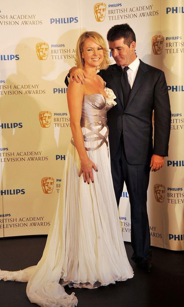 Amanda Holden and Simon