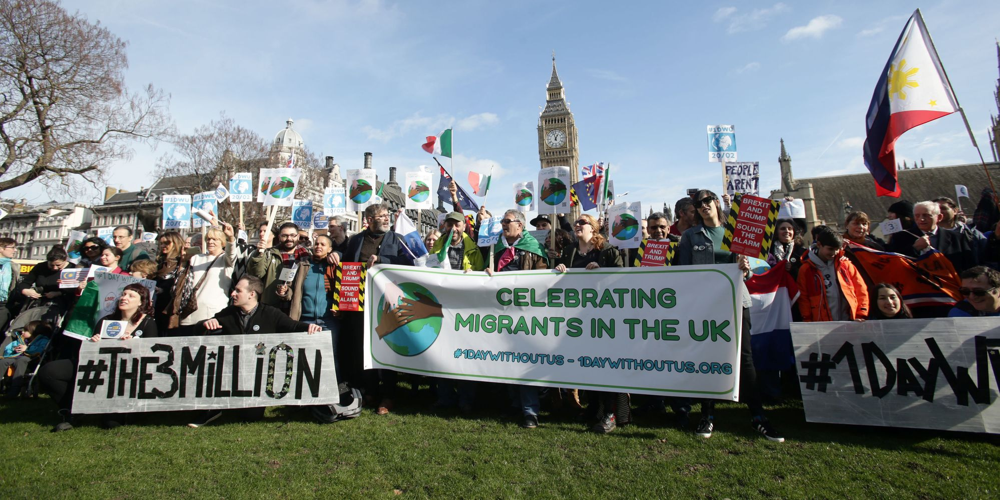 One Day Without Us Campaign Highlights Positive Impact Migrants Have On UK Economy
