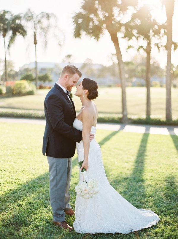 """Brittany and Marty got married in Venice, Florida. Congrats to this sweet couple!"" -- <i>Kathleen Atkins</i>"