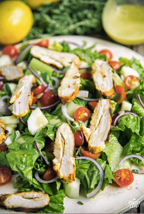 "<strong>Get the <a href=""https://paleoleap.com/chicken-shawarma-salad/"" target=""_blank"">Chicken Shawarma Salad recipe</a>&nbs"