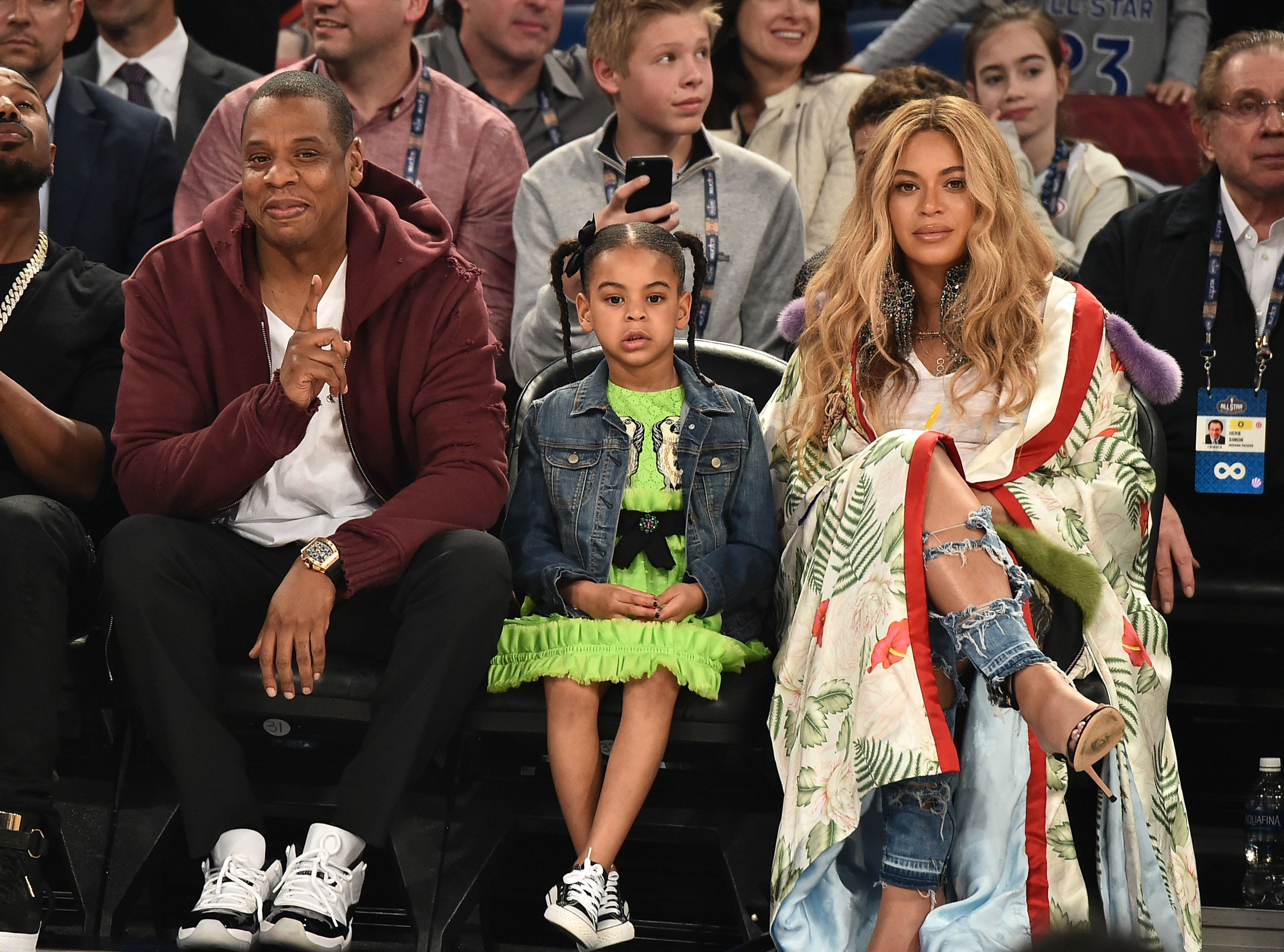 Beyoncé And Her Baby Bump Stole The Show At The All-Star