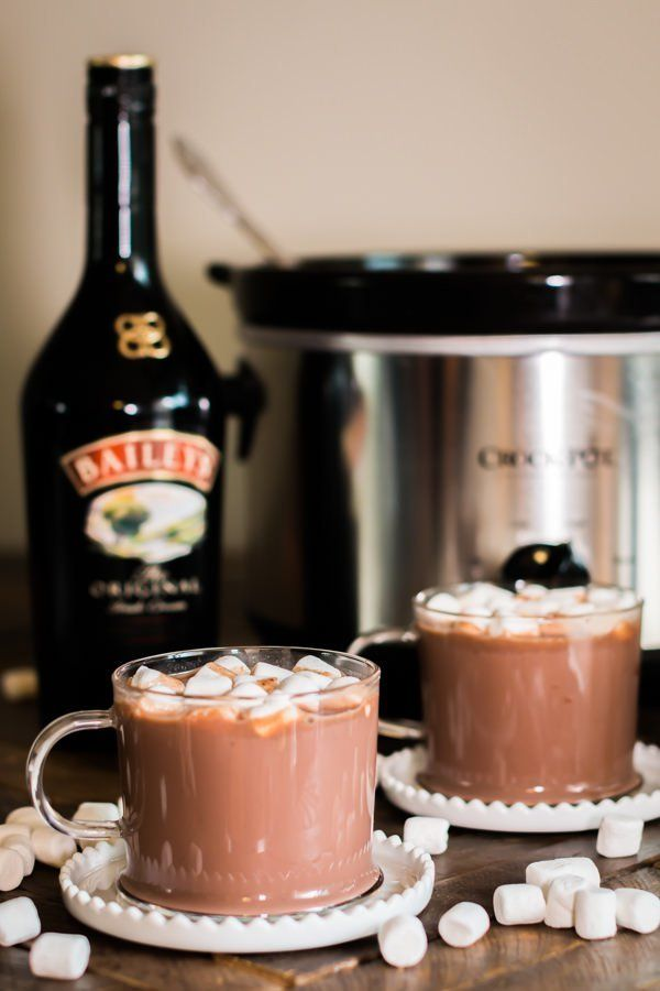 "<strong>Get the <a href=""http://www.themagicalslowcooker.com/slow-cooker-baileys-irish-cream-hot-chocolate/"" target=""_blank"">"
