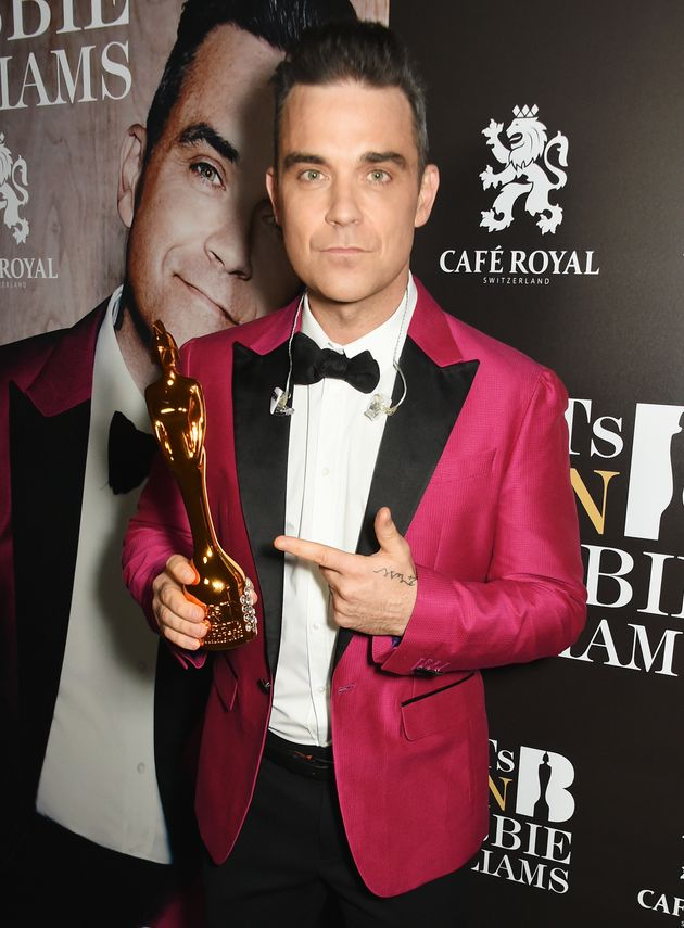 Robbie Williams has been names a Brits
