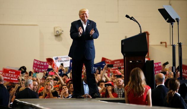 Donald Trump referenced a fictitious 'event' in Sweden over the weekend during a rally in