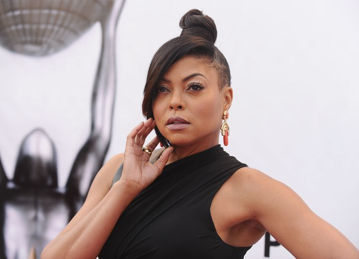 Taraji P. Henson attends the 48th NAACP Image Awards.