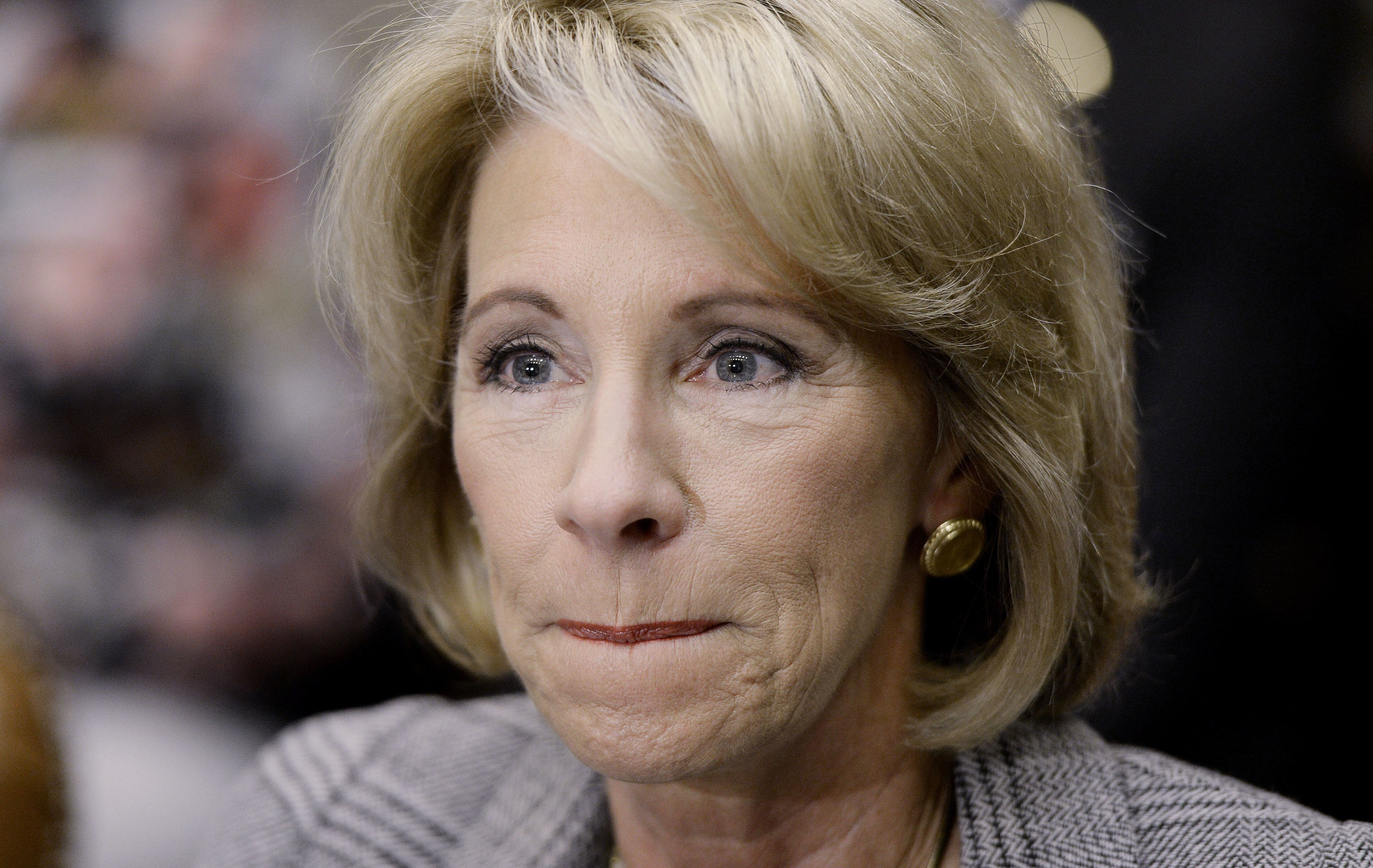 Betsy DeVos commented on her recent visit toJefferson Academy in Washington, D.C.