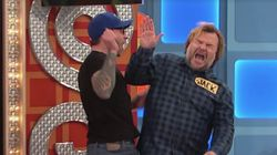 Jack Black Was Accidentally Slapped In The Face By A 'Price Is Right'