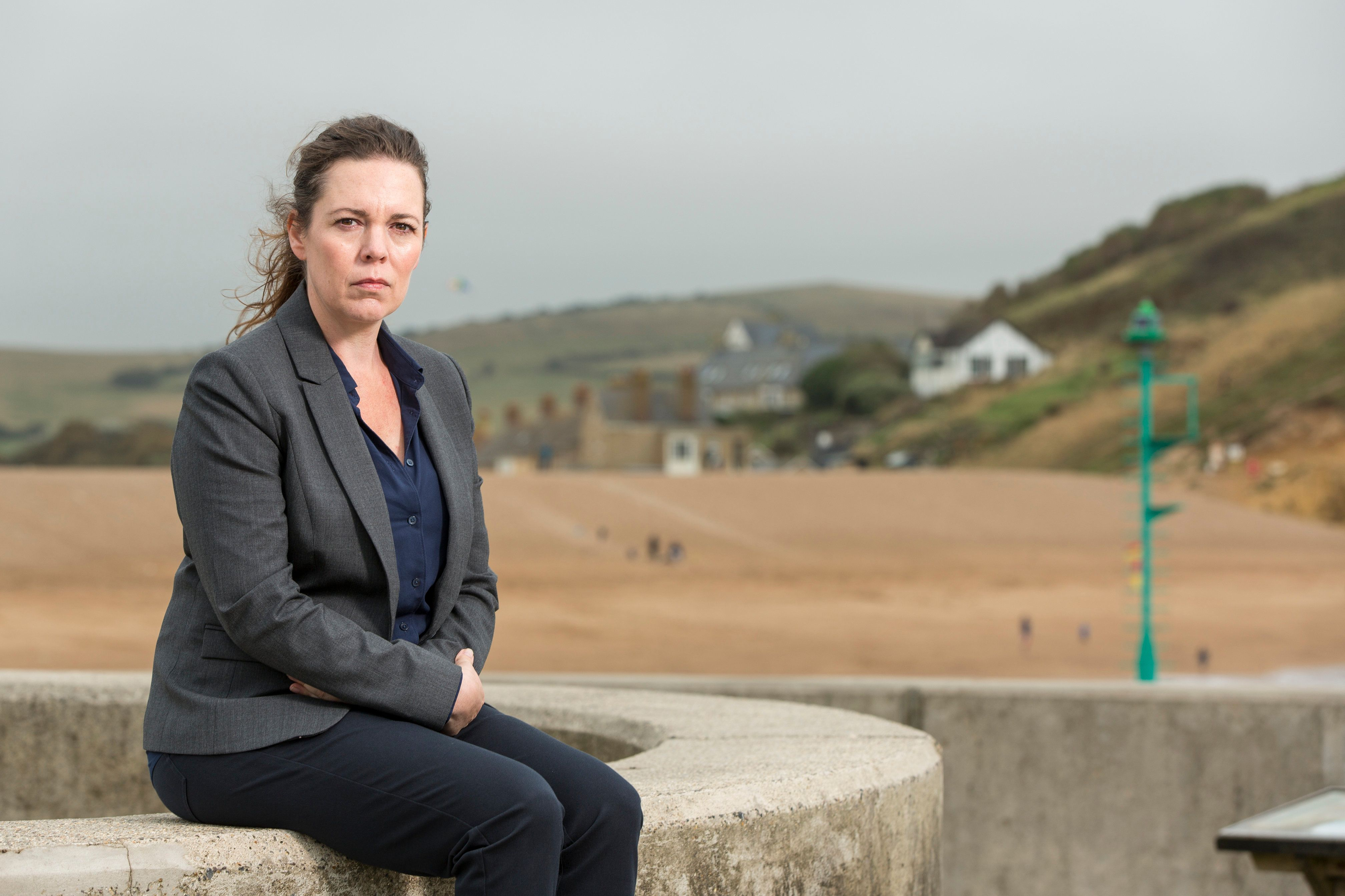 Olivia was one of the very few let in on the original 'Broadchurch'