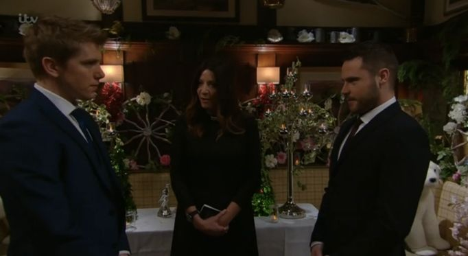 Emmerdale's Robron Wedding Interrupted, With Murder Accusation Bringing Proceedings To A