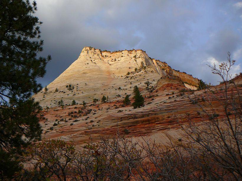 Magnificent colors at Zion National Park, Utah.