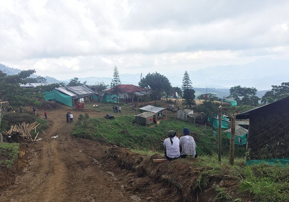High in the mountains of Icononzo, Colombia, people are building atransitionzone for FARC rebels.