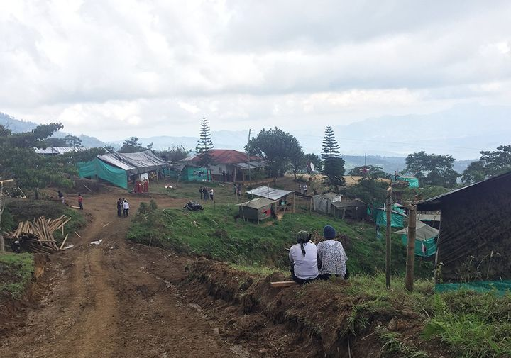 High in the mountains of Icononzo, Colombia, people are building a transition zone for FARC rebels.