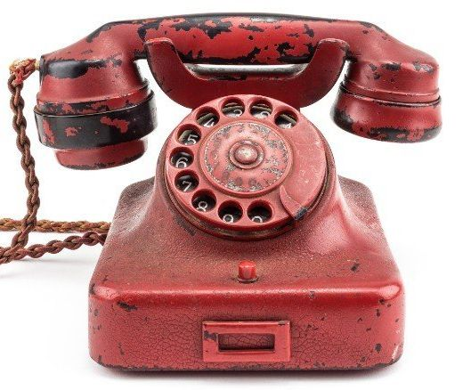 Adolf Hitler's personal traveling phone was sold at auction for $243,000.