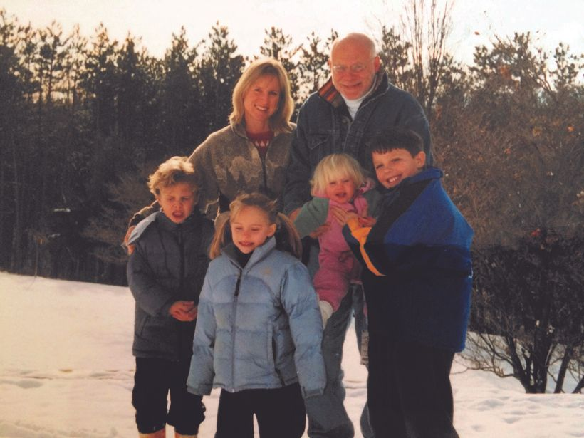 The Greenburger Family some years ago