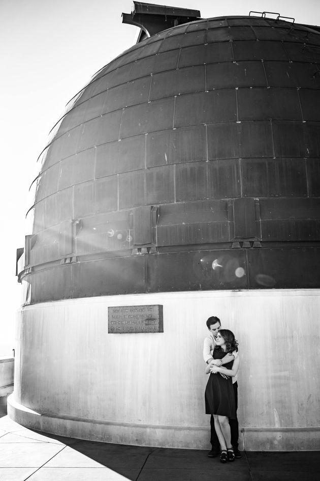 These 'La La Land' Engagement Pics Capture That Old Hollywood