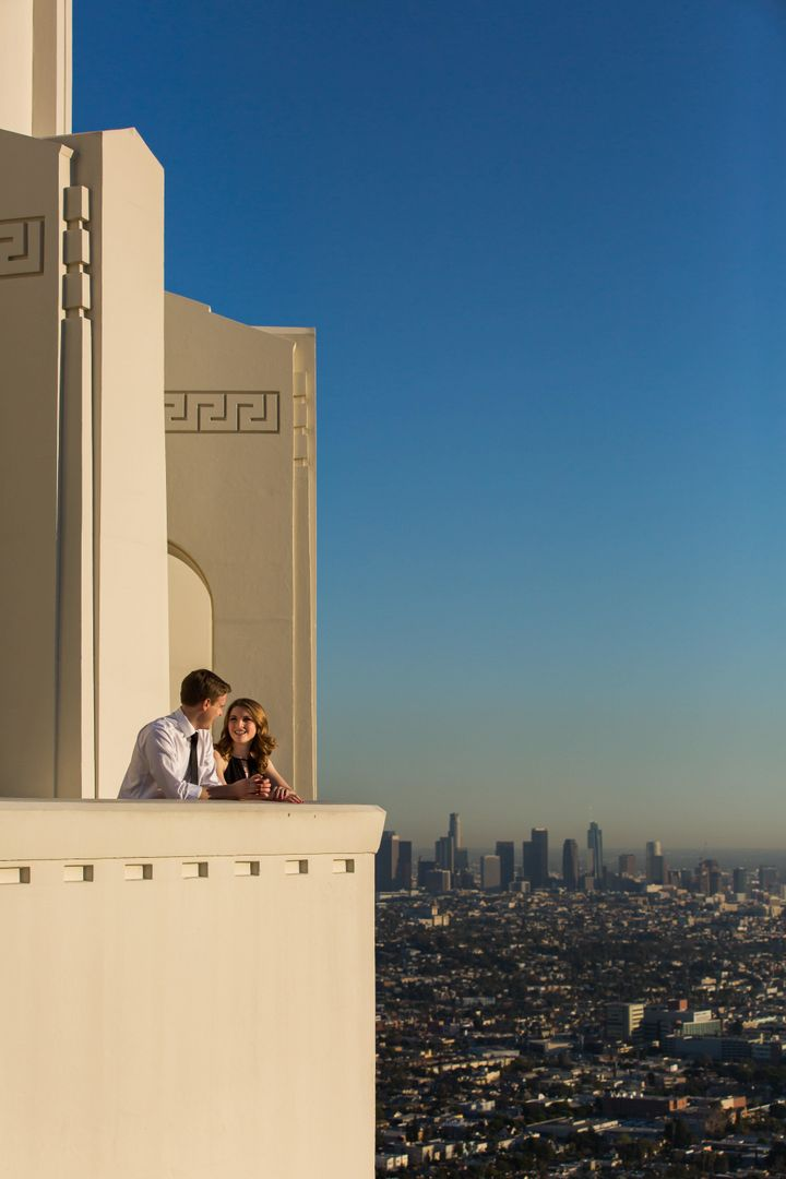 In addition to pictures of the couple, the photographer captured gorgeous views of the city.