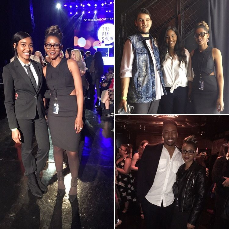 """Me with some of the designers that showed their collections at <a rel=""""nofollow"""" href=""""http://www.thepinshow.com/"""" target=""""_b"""
