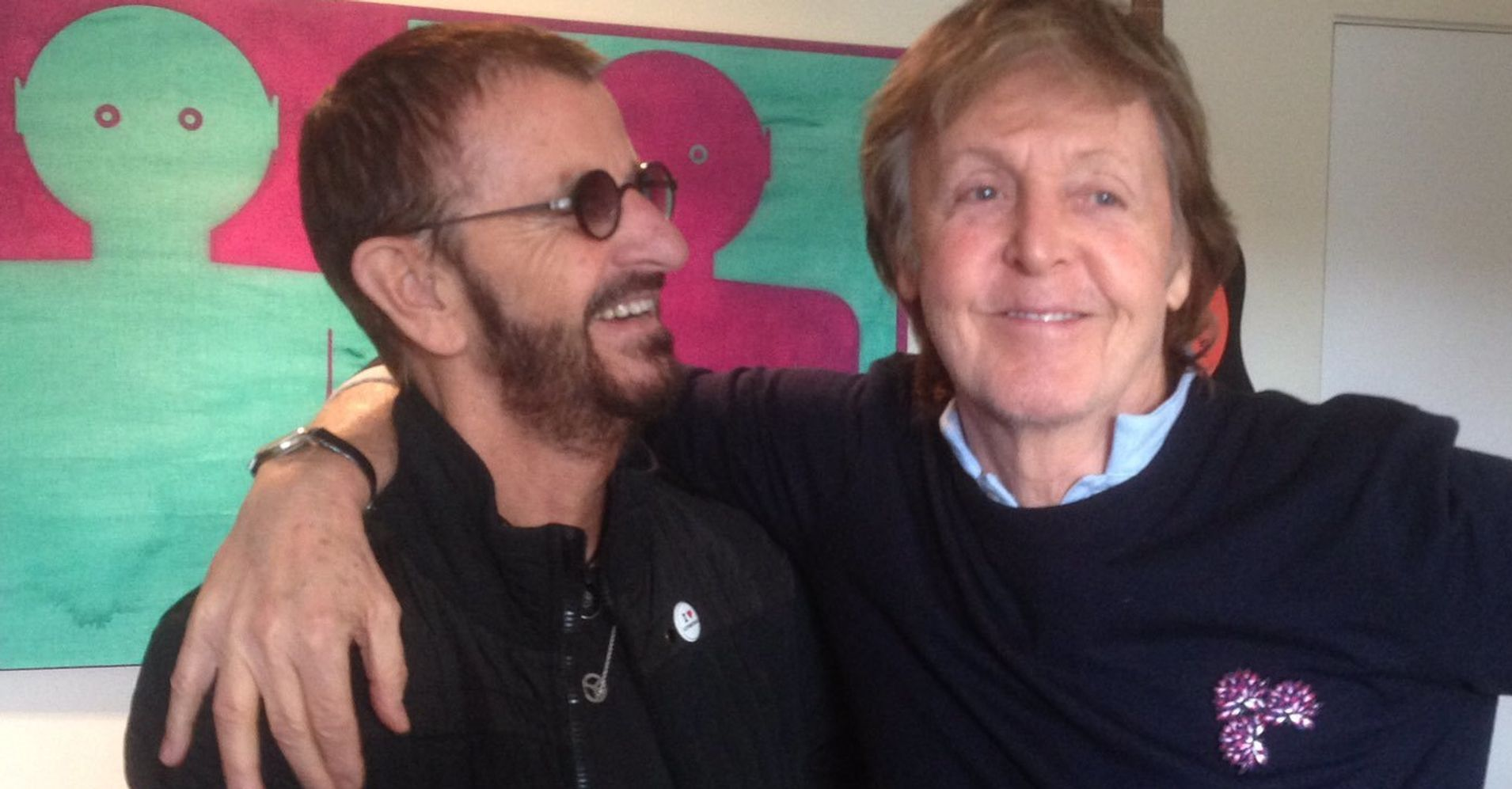 Surviving Beatles Paul McCartney And Ringo Starr Reunite For Recording Session
