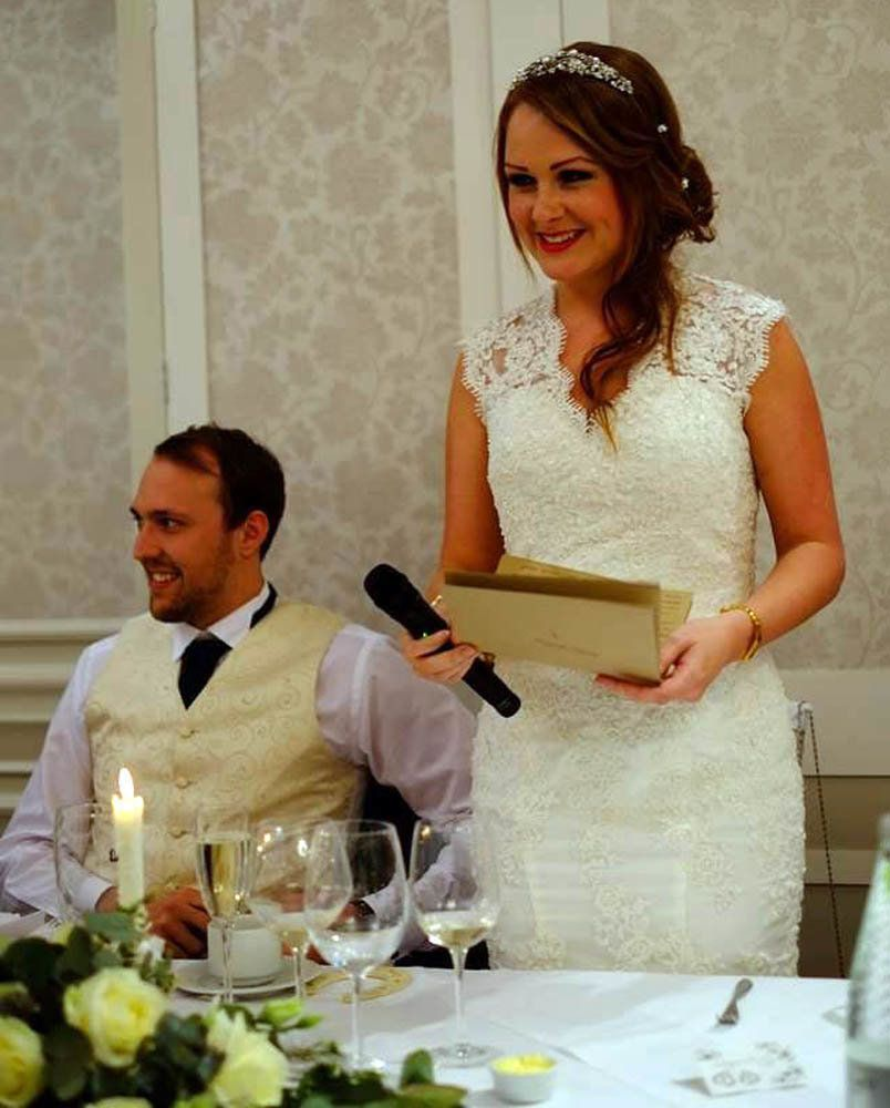 Emotional Moment Bride Overcomes Stammer To Read Vows At Wedding
