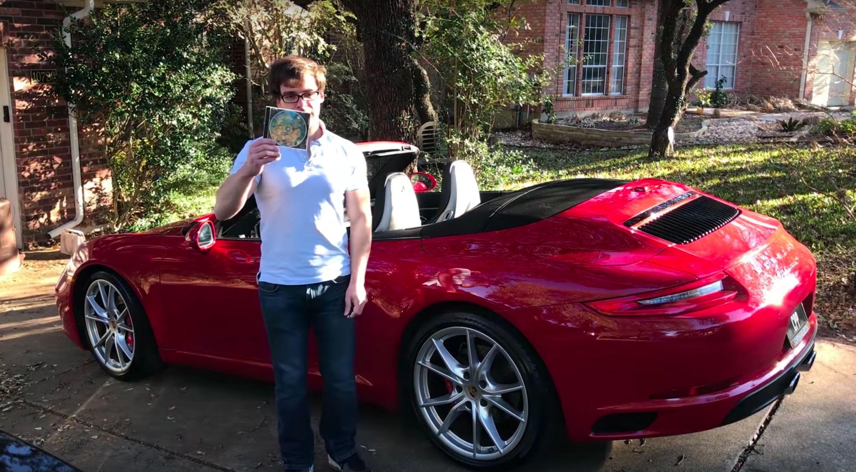 Genius Turns His $200,000 Porsche Into A Giant Controller For
