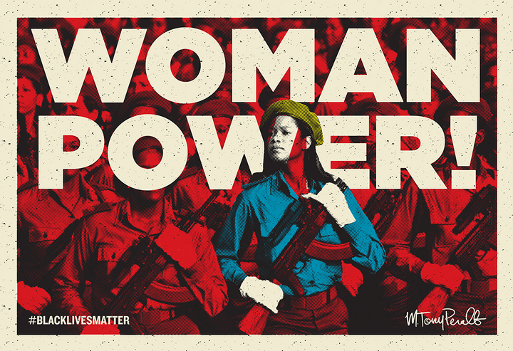 """WOMAN POWER"" by <a href=""https://www.facebook.com/peraltaproject/"" target=""_blank"">MTony Peralta</a>"