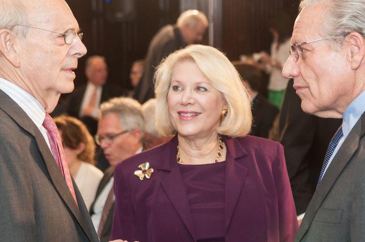 Justice Breyer, Jill Wine-Banks, Bob Woodward