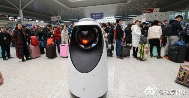 China Now Has Robot Police With Facial