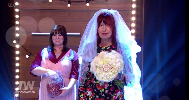 Janet Street-Porter Married Herself On 'Loose Women' Because She's Janet